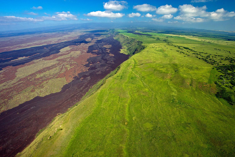 Hawaii - Landschaft - Luftaufnahme