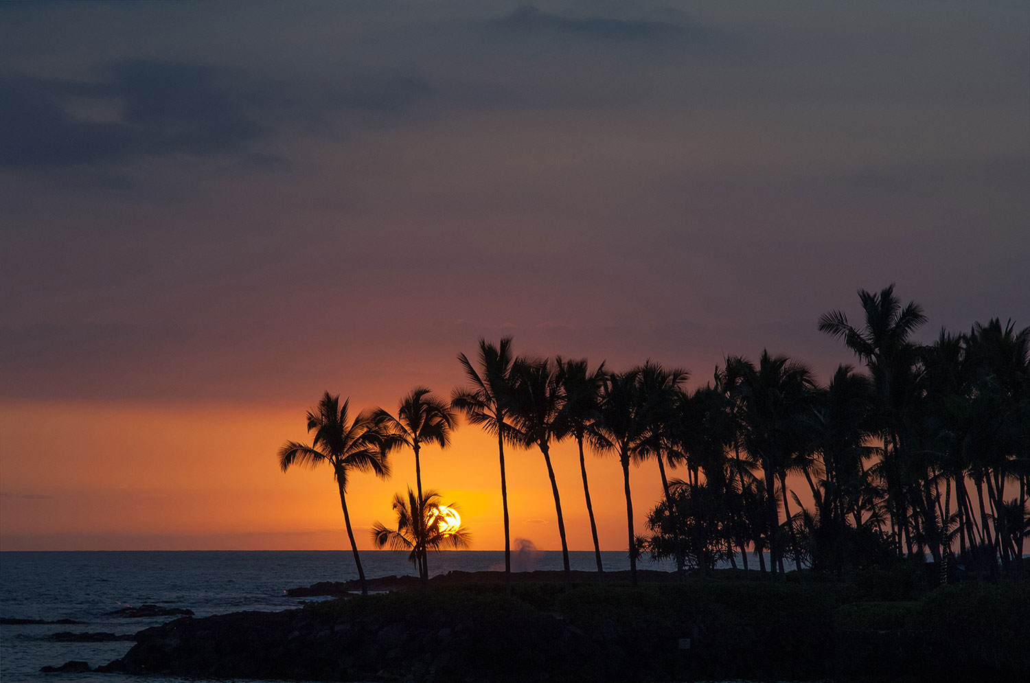 Hawaii - Sonnenuntergang