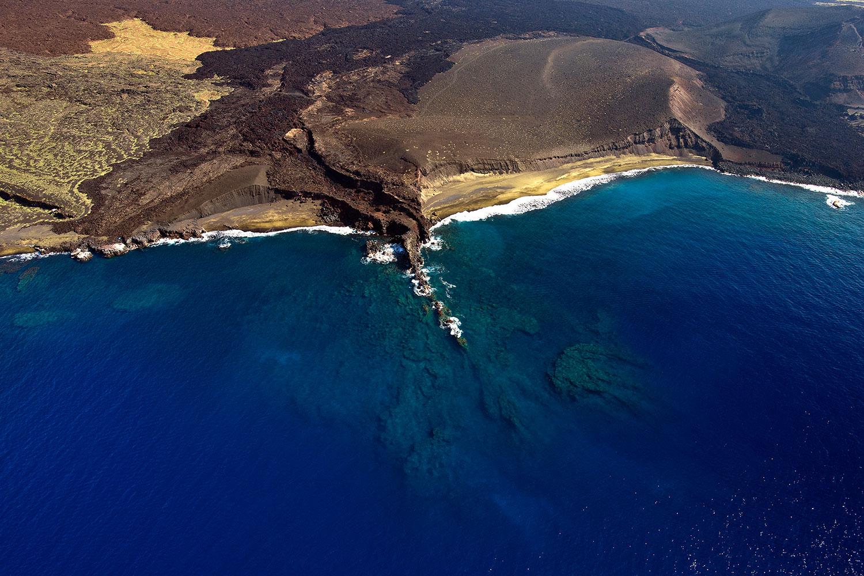 Hawaii - Küste - Luftaufnahme