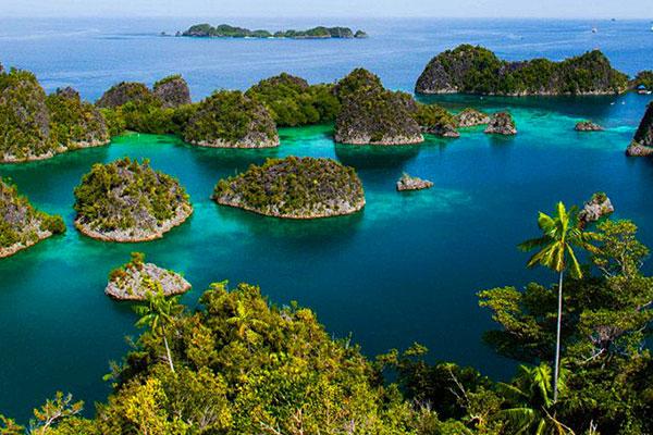 Inseln in Raja Ampat