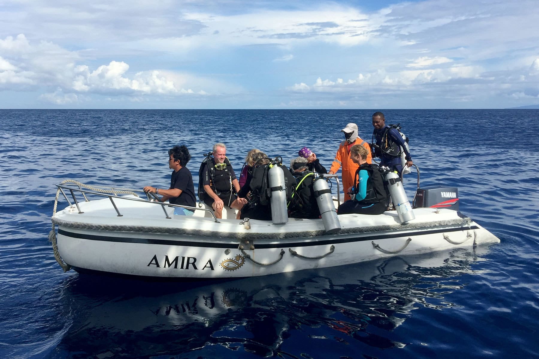 M.S.V. Amira - Tauchsafari in Raja Ampat, Cenderawasih Bay und Komodo